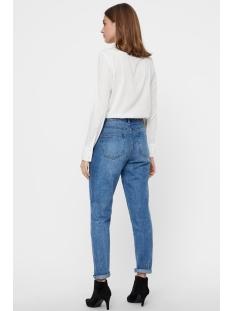 vmviola nicky ls shirt box 10207528 vero moda blouse snow white/solid