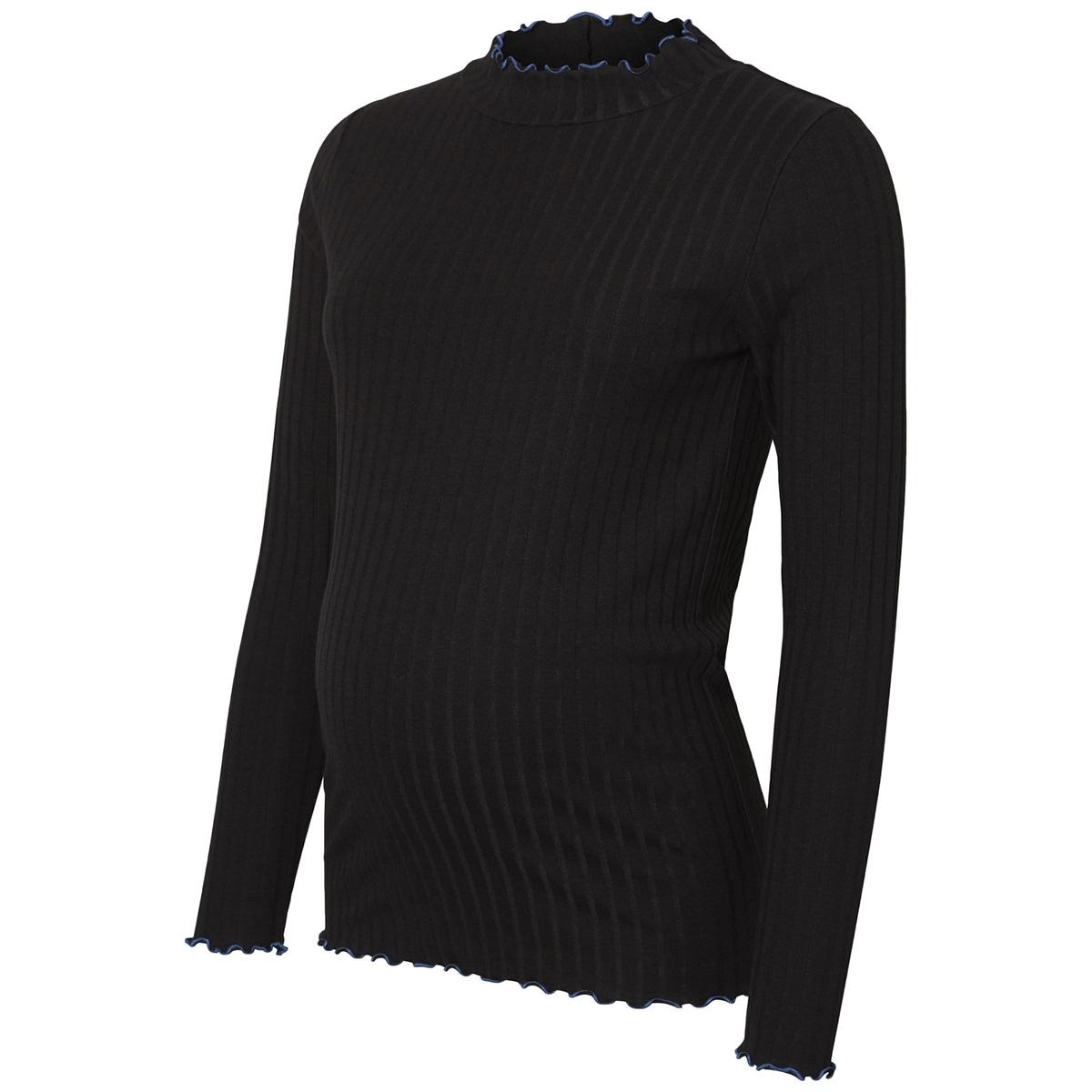 mlancia l/s jersey top a. 20009222 mama-licious positie trui black