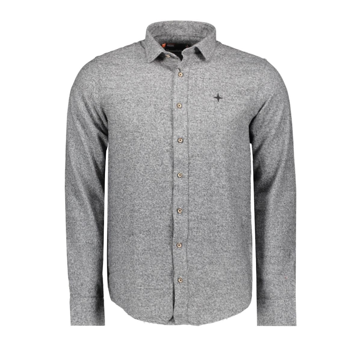 mu10-0107 haze & finn overhemd grey