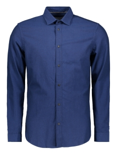 Jack & Jones Overhemd JCOHUDSON SHIRT LS PLAIN 12143849 Sky Captain/SLIM FIT