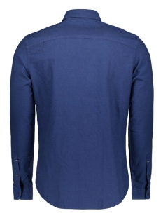 jcohudson shirt ls plain 12143849 jack & jones overhemd sky captain/slim fit