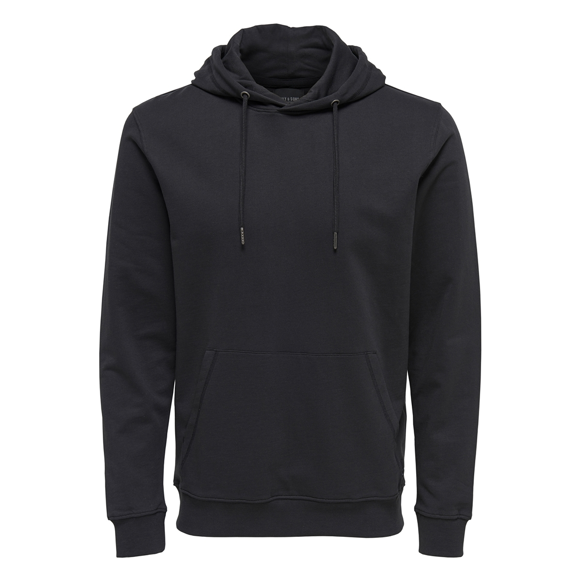 onsbasic sweat hoodie unbrushed noos 22012006 only & sons sweater black