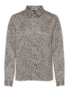 onlsnake l/s shirt wvn 15181210 only blouse cloud dancer/leo