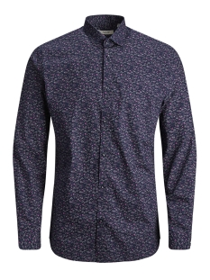 Jack & Jones Overhemd JPRBLACKPOOL SHIRT L/S S19 STS 12145540 Navy Blazer/SLIM FIT