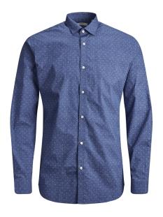Jack & Jones Overhemd JPRBLACKPOOL SHIRT L/S S19 STS 12145540 Blue Depths/SLIM FIT