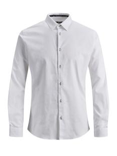 Jack & Jones Overhemd JPRMARCO DETAIL SHIRT L/S 12145537 White/SOLID/Slim