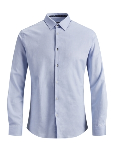 Jack & Jones Overhemd JPRMARCO DETAIL SHIRT L/S 12145537 Cashmere Blue/SOLID/Slim