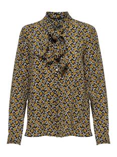onlnovalux aop pussybow shirt 3 wvn 15167603 only blouse black/vintage flow