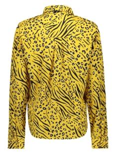 onlmuni l/s shirt wvn 15178572 only blouse yolk yellow/leo/zebra