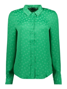 Vero Moda Blouse VMSILLE DOT L/S MIDI SHIRT WVN 10210103 Holly Green