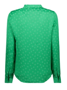 vmsille dot l/s midi shirt wvn 10210103 vero moda blouse holly green