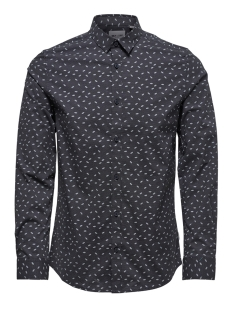 Only & Sons Overhemd onsALFREDO LS DITST AOP SHIRT 22012323 Dark Navy