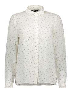 vmeffie ls shirt wvn 10210412 vero moda blouse snow white/snow white