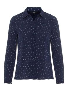 vmeffie ls shirt wvn 10210412 vero moda blouse night sky/night sky