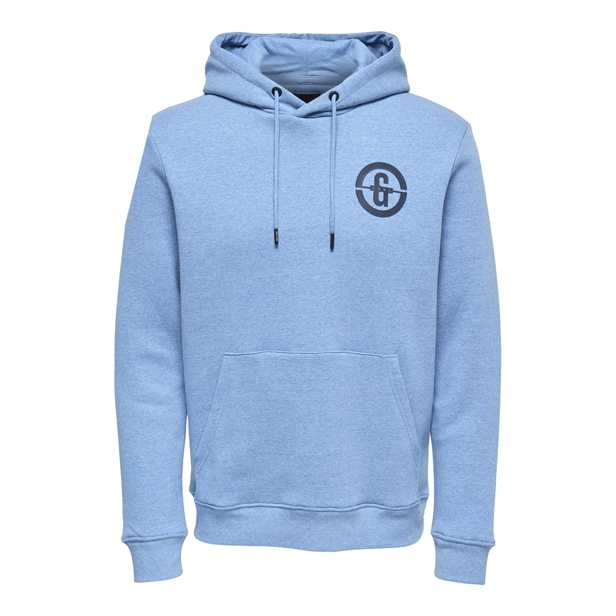 onsorlando sweat hoodie 22012250 only & sons sweater imperial blue