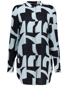 Vero Moda Blouse VMBOLDONIA L/S LONG SHIRT WVN 10212011 Night Sky/BOLDONIA W