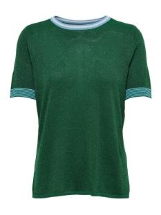 onlstella 2/4 pullover ex knt 15179221 only t-shirt cadmium green/as asmple