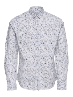 Only & Sons Overhemd onsTODD LS CUTAWAY AOP SHIRT 22012322 White