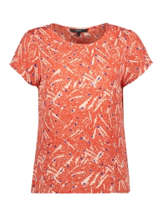 Vero Moda T-shirt VMMARY SASHA SS TOP LCS 10214479 Fiery Red/FIERY RED