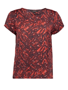 Vero Moda T-shirt VMMARY SASHA SS TOP LCS 10214479 Night Sky/NIGHT SKY