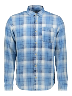 Jack & Jones Overhemd JORKNOX SHIRT LS 12147525 Bonnie Blue/Slim