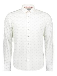 Haze & Finn Overhemd SHIRT AOP STRETCH MC11 0100 07 PAPER HAT
