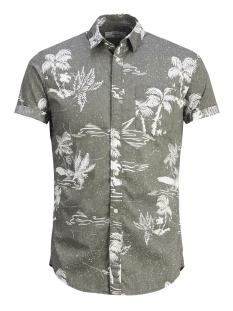 Produkt Overhemd PKTDEK ISLAND AOP SHIRT SS 12148318 Dusty Olive