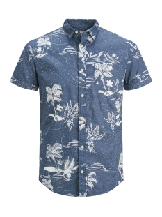 Produkt Overhemd PKTDEK ISLAND AOP SHIRT SS 12148318 Dark Denim
