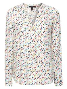 blouse met henleyhals 039eo1f001 esprit collection blouse e110