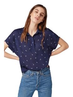 shirt met bloemen 1009778xx71 tom tailor blouse 16848