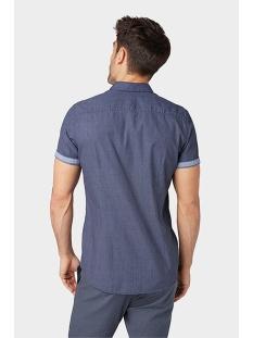 overhemd met fijn motief 1009358xx10 tom tailor overhemd 16686