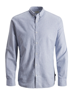 Jack & Jones Blouse JJESUMMER SHIRT L/S NOOS 12146108 Infinity/SLIM FIT