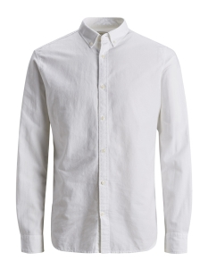 Jack & Jones Overhemd JJESUMMER SHIRT L/S NOOS 12146108 White/SLIM FIT