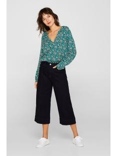 blouse met print en henley hals 039ee1f001 esprit blouse e400