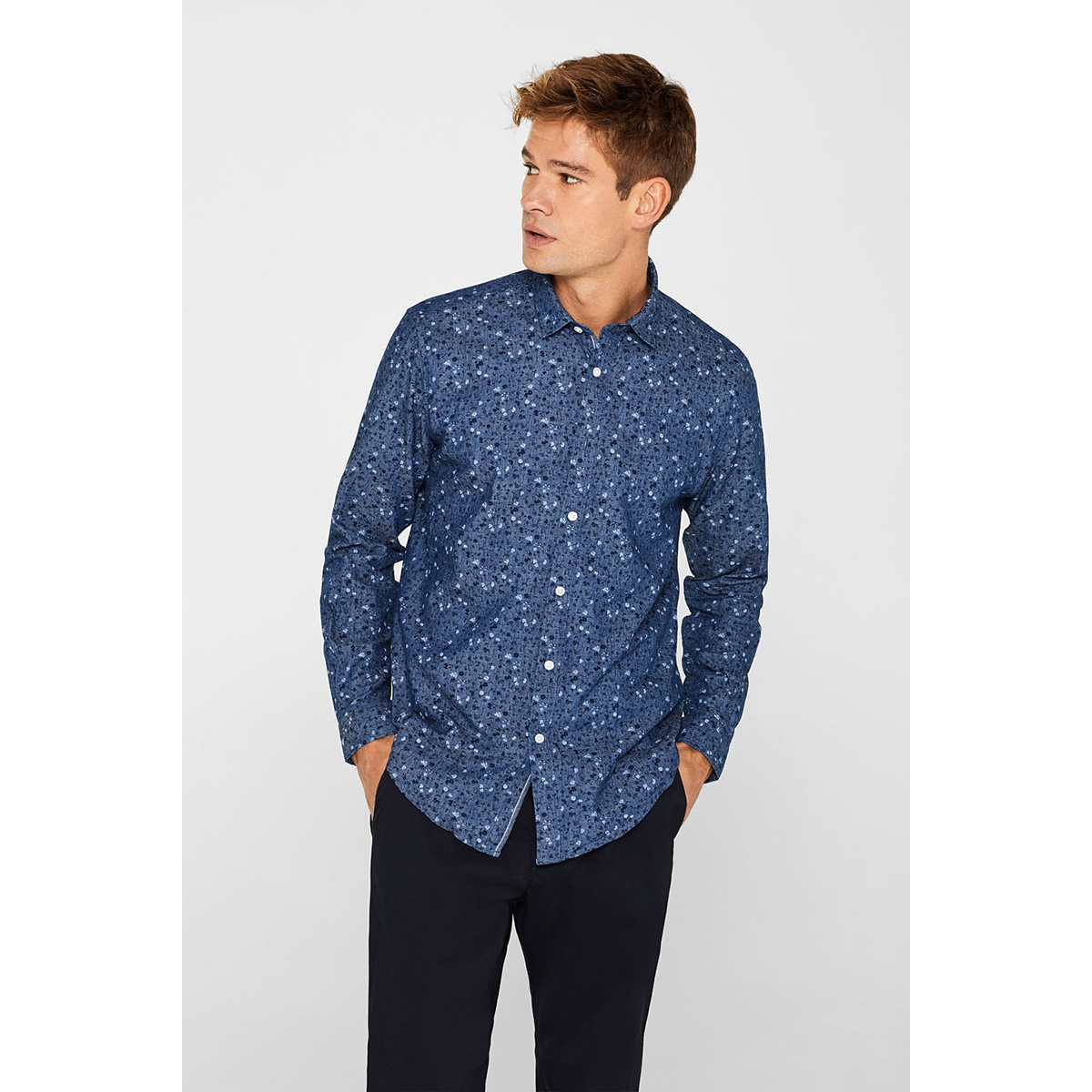 indigo overhemd 039ee2f005 esprit overhemd e440