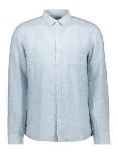 Only & Sons Overhemd onsLUKE LS LINEN SHIRT NOOS 22013258 Cashmere Blue