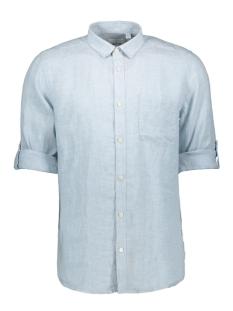 onsluke ls linen shirt noos 22013258 only & sons overhemd cashmere blue