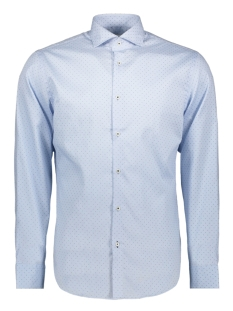 Jack & Jones Overhemd JPRFRANCO PRINT SHIRT L/S PRE 12146543 Cashmere Blue/SLIM FIT
