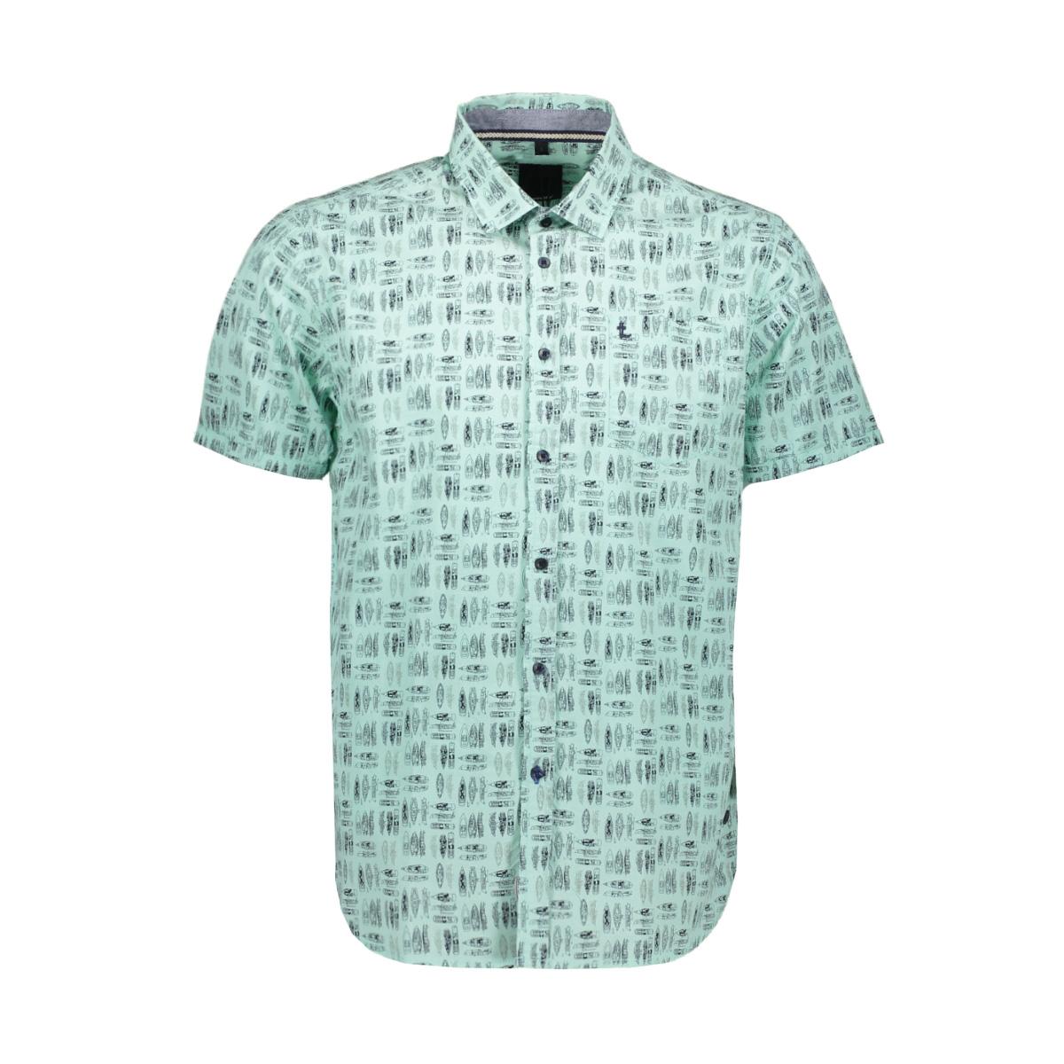 shirt ss regular fit 1901 2129 m 1 twinlife overhemd 5415 dusty jade