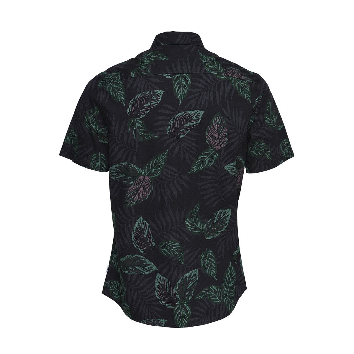onstimothy ss floral shirt re 22012326 only & sons overhemd black