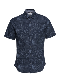 Only & Sons Overhemd ONSTIMOTHY SS FLORAL SHIRT RE 22012326 Dress Blues