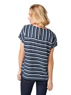 gestreepte blouse 1010676xx70 tom tailor blouse 17360