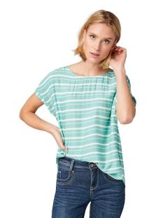 gestreepte blouse 1010676xx70 tom tailor blouse 17357