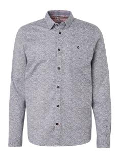 Tom Tailor Overhemd OVERHEMD MET MOTIEF 1009346XX10 16840