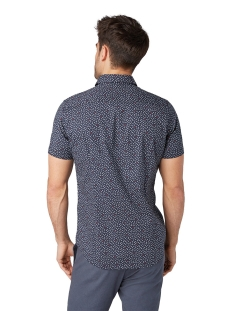 overhemd met korte mouwen 1009359xx10 tom tailor overhemd 16877