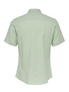onscaiden ss linen shirt re 22009885 only & sons overhemd grayed jade