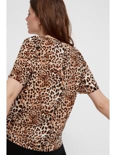 pcbinea ss top pb 17093467 pieces t-shirt cloud dancer/ animal