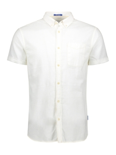 Jack & Jones Overhemd JORANTHONY SHIRT SS ORG 12152555 Cloud Dancer