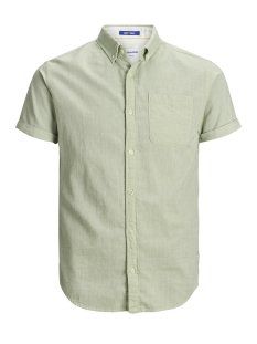 Jack & Jones Overhemd JORANTHONY SHIRT SS ORG 12152555 Green Bay