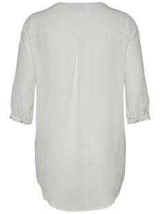 carresource 3/4 shirt sus 15178613 only carmakoma blouse cloud dancer